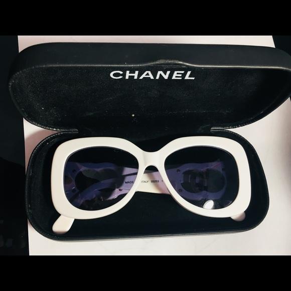 9625d7e9 Coco Chanel vintage sunglasses